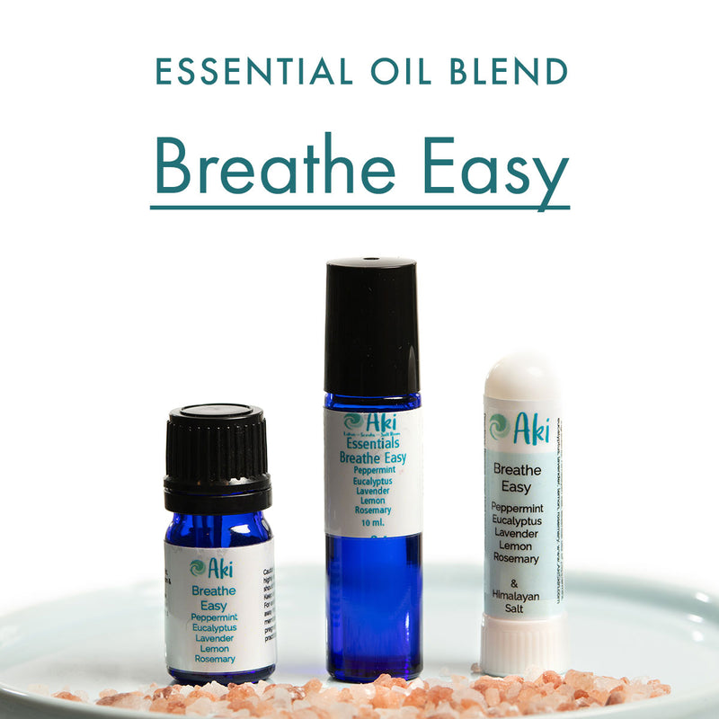 breathe easy - peppermint, eucalyptus, lavender, lemon, rosemary
