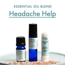 headache help - lavender peppermint