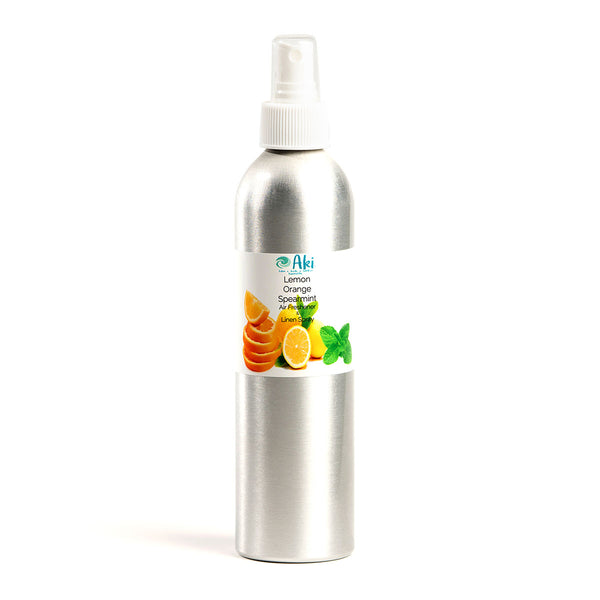 Lemon organe spearming air freshener and linen spray