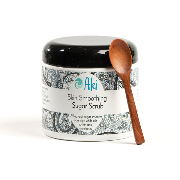 skin smoothing sugar scrub