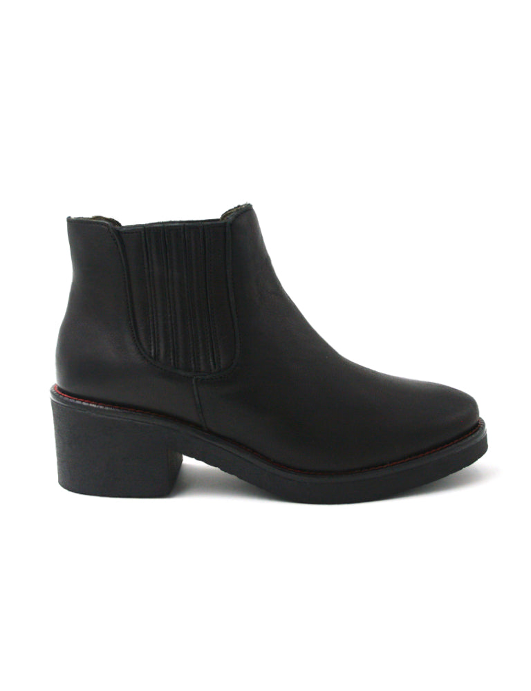Leather ankle boots-Ankle Boots Night by Ethical & Sustainable Fashion Brand Mamahuhu