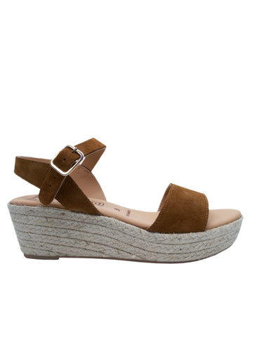 Leather Sandal-Brown Leather Sandals by Ethical & Sustainable Fashion Brand Mamahuhu