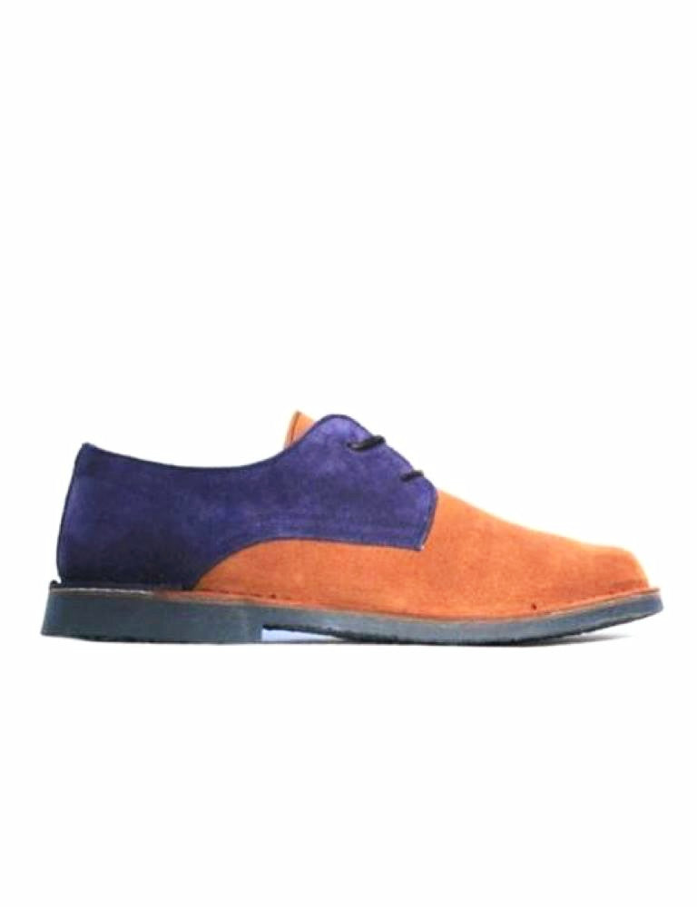 Oxford-Oxford Cinnamon Blueberry by Ethical & Sustainable Fashion Brand Mamahuhu