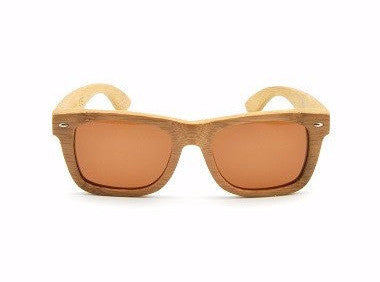 Wooden Sunglasses-Bamboo Sunglasses Coffee by Ethical & Sustainable Fashion Brand Mamahuhu