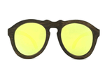Wooden Sunglasses-Bamboo Sunglasses Pilot Gold by Ethical & Sustainable Fashion Brand Mamahuhu
