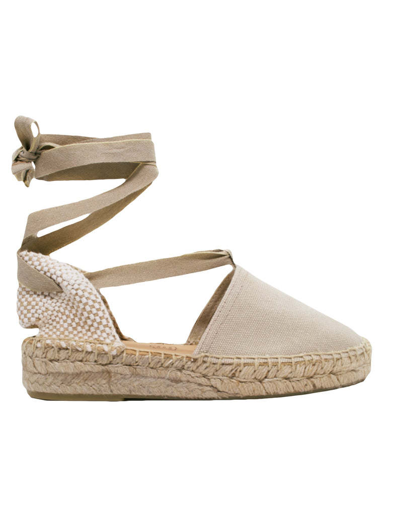 Espadrilles Women-Espadrilles Flat Stone by Ethical & Sustainable Fashion Brand Mamahuhu