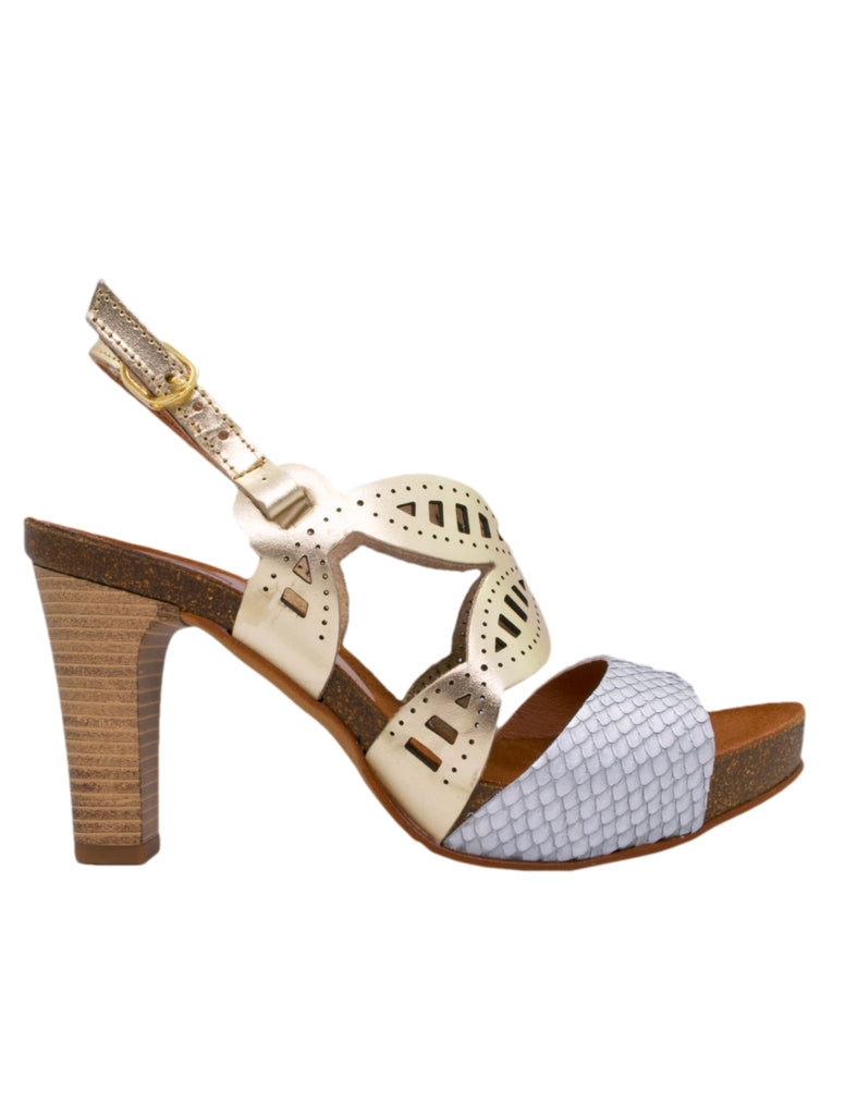 Espadrilles Women-Metallic Gold Butterfly Sandal by Ethical & Sustainable Fashion Brand Mamahuhu