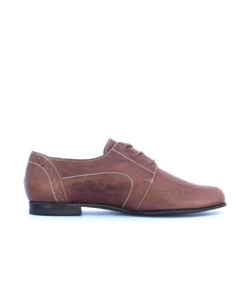 Moccasin Oxford Chocolate