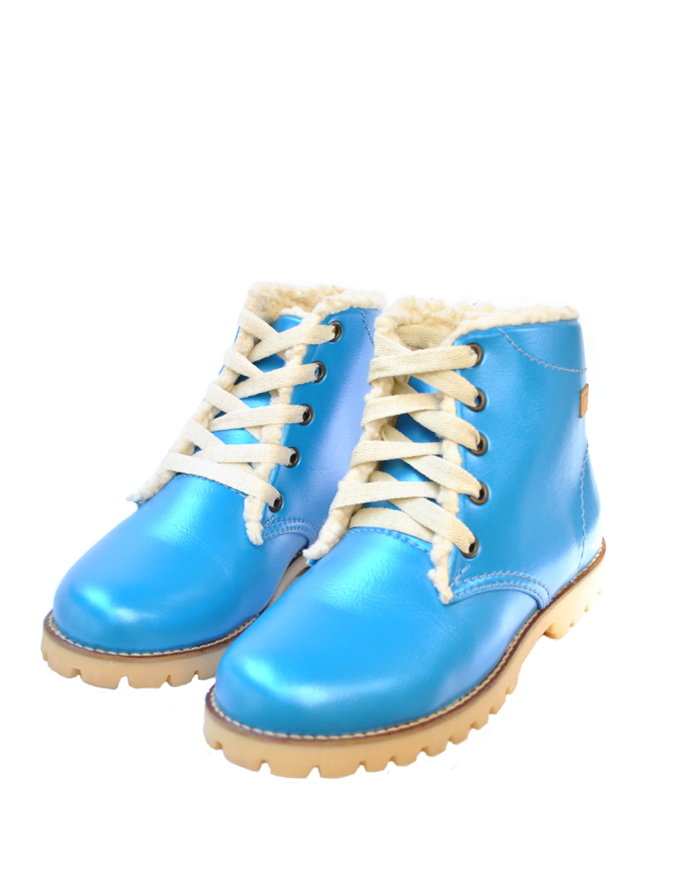 Deals-Nevaditas Metallic Blue Winter by Ethical & Sustainable Fashion Brand Mamahuhu