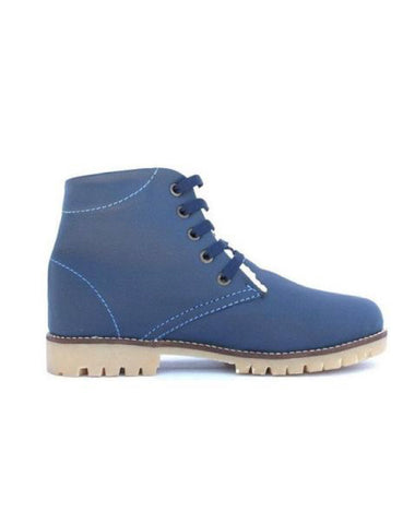 Leather boots-Nevaditas Sapphire Winter by Ethical & Sustainable Fashion Brand Mamahuhu
