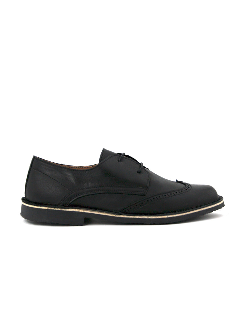 leather moccasin-Oxford Dark Night Classic by Ethical & Sustainable Fashion Brand Mamahuhu