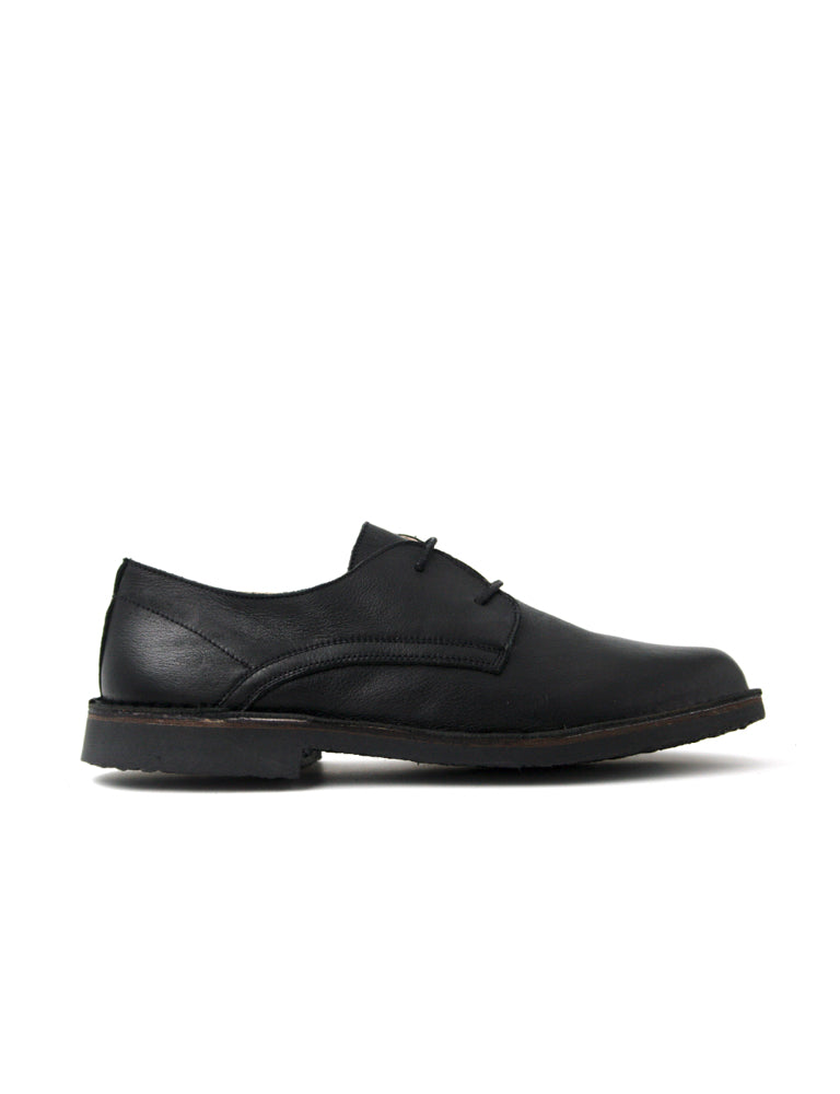 leather moccasin-Oxford Dark Night Smooth by Ethical & Sustainable Fashion Brand Mamahuhu