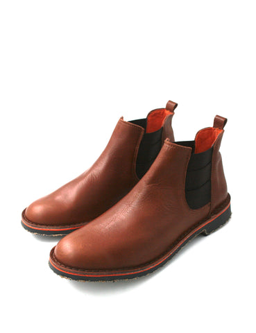 Deals-Chelsea Boots Cognac by Ethical & Sustainable Fashion Brand Mamahuhu