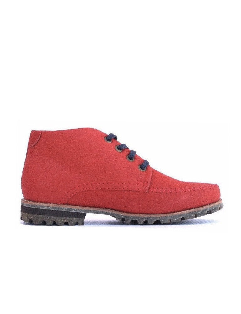 Leather boots-Colorines Ruby by Ethical & Sustainable Fashion Brand Mamahuhu