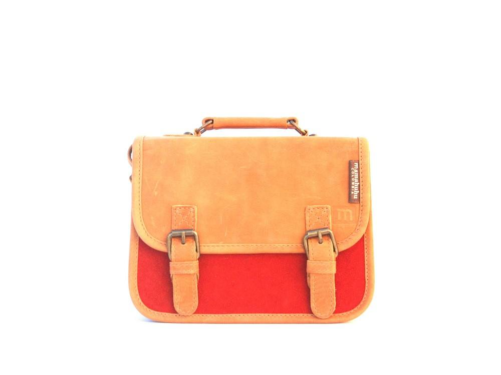 Fullgrain leather bag-Mini Premium Colombia by Ethical & Sustainable Fashion Brand Mamahuhu