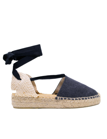 Espadrilles Women-Espadrilles Flat Night by Ethical & Sustainable Fashion Brand Mamahuhu