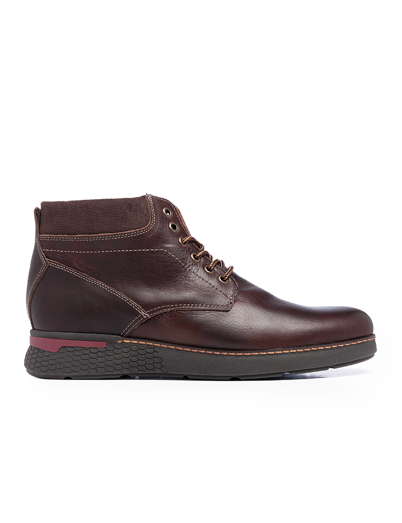 Leather Men-Olympus Leather Winter Boots by Ethical & Sustainable Fashion Brand Mamahuhu