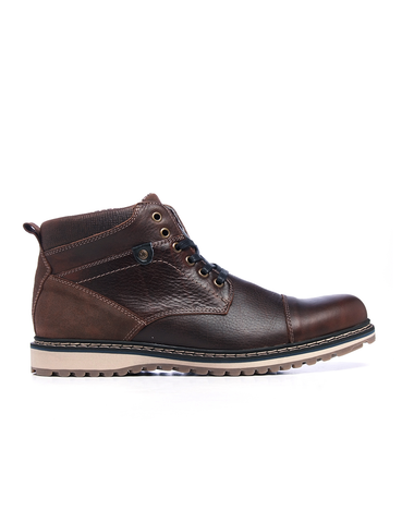 Leather Men-Elbrus Leather Winter Boots by Ethical & Sustainable Fashion Brand Mamahuhu