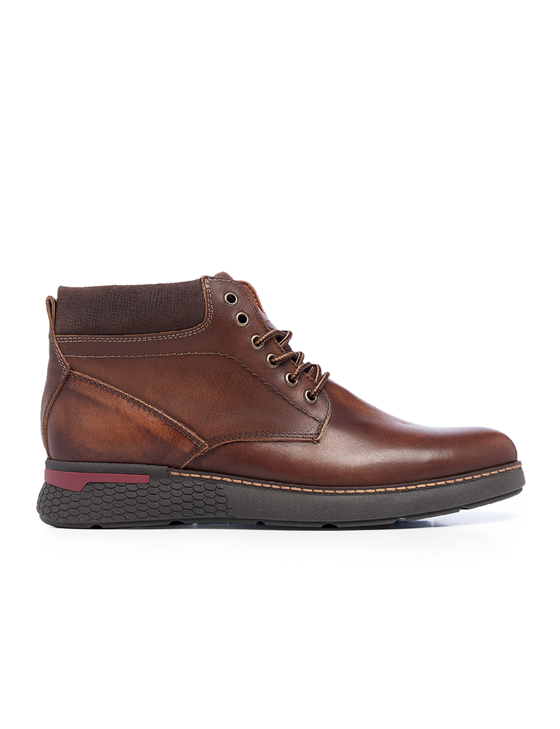 Leather Men-Fuji Leather Winter Boots by Ethical & Sustainable Fashion Brand Mamahuhu