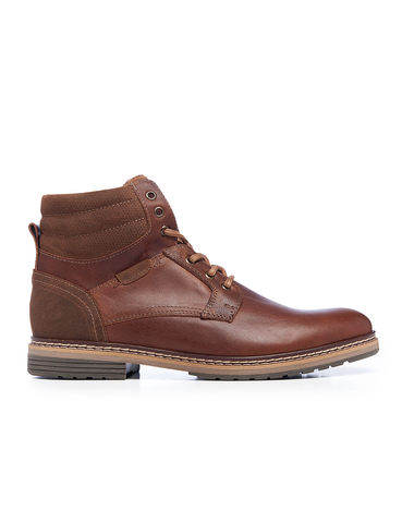 Leather Men-Ben Nevis Leather Winter Boots by Ethical & Sustainable Fashion Brand Mamahuhu