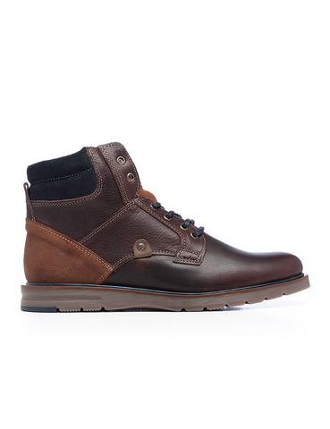Leather Men-Kilimanjaro Leather Winter Boots by Ethical & Sustainable Fashion Brand Mamahuhu
