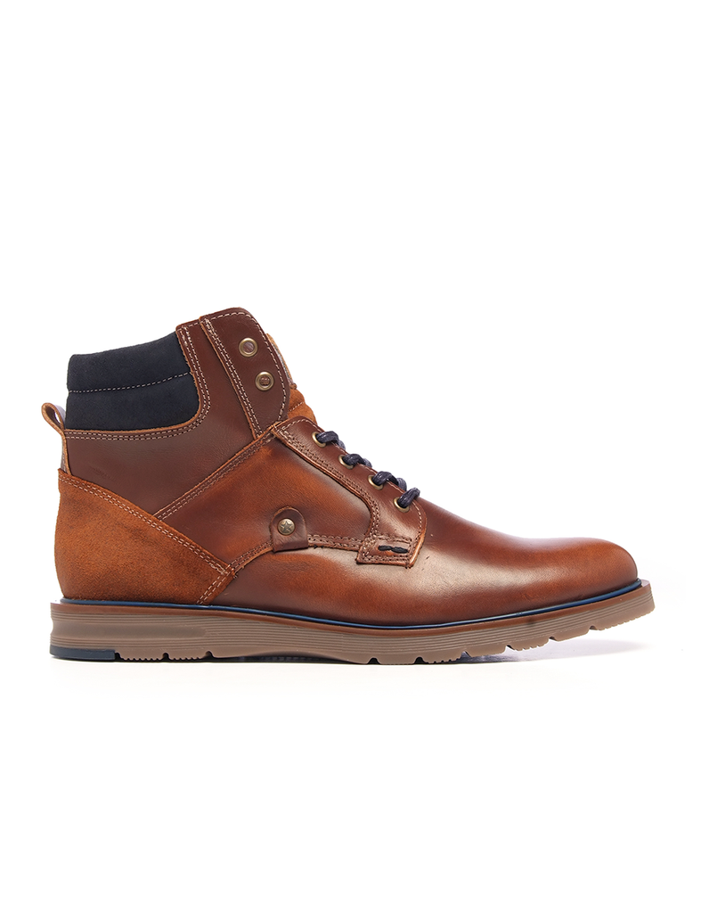 Leather Men-Everest Leather Winter Boots by Ethical & Sustainable Fashion Brand Mamahuhu