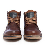 Leather Men-Matterhorn Leather Winter Boots by Ethical & Sustainable Fashion Brand Mamahuhu