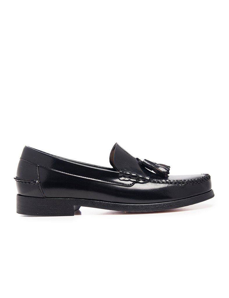 Leather Men-Night Leather Moccasins by Ethical & Sustainable Fashion Brand Mamahuhu