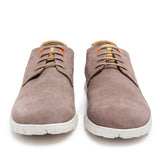 Leather Men-Silver Leather Sneakers by Ethical & Sustainable Fashion Brand Mamahuhu
