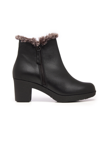 Leather Women-Denali Fur Winter Boots by Ethical & Sustainable Fashion Brand Mamahuhu