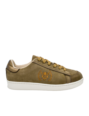 Ethical Sneakers-Ethical Sneakers Brown Suede by Ethical & Sustainable Fashion Brand Mamahuhu