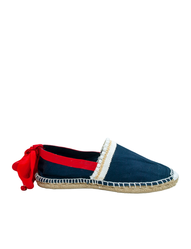 Espadrilles Women-Espadrilles Sailor Pearls by Ethical & Sustainable Fashion Brand Mamahuhu