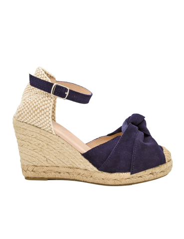 Espadrilles Women-Espadrilles Elyse Blue by Ethical & Sustainable Fashion Brand Mamahuhu