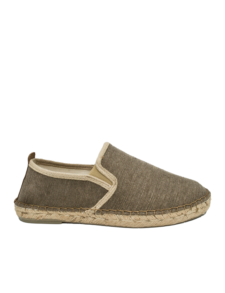 Espadrilles Men-Espadrilles Slip-on Chocolate by Ethical & Sustainable Fashion Brand Mamahuhu