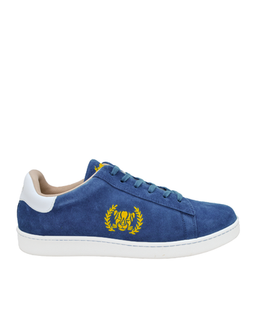 Ethical Sneakers-Ethical Sneakers Blue Suede by Ethical & Sustainable Fashion Brand Mamahuhu