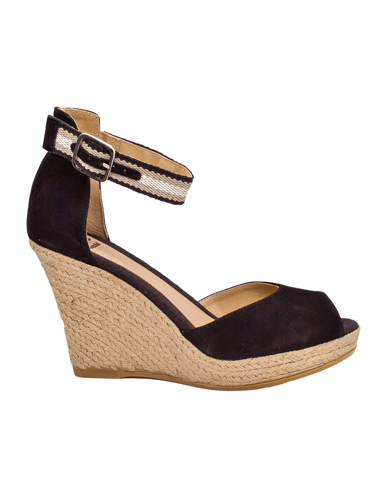 Espadrilles Women-Espadrilles 7-knots Black by Ethical & Sustainable Fashion Brand Mamahuhu