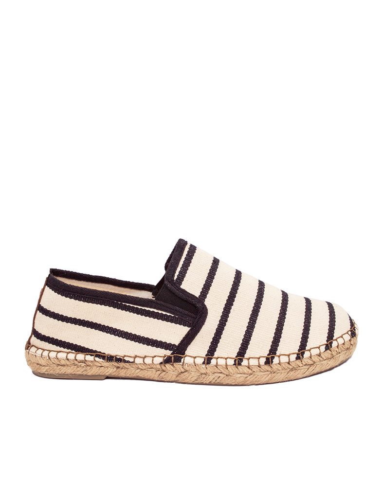 Espadrilles Men-Espadrilles Zebra Night by Ethical & Sustainable Fashion Brand Mamahuhu