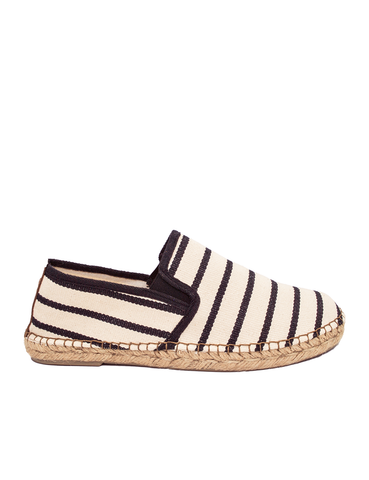 Espadrilles Men-Espadrilles Zebra Black by Ethical & Sustainable Fashion Brand Mamahuhu