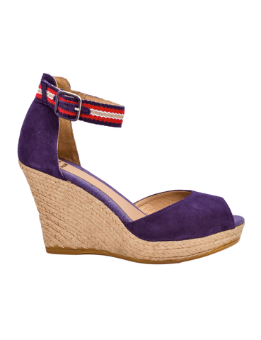 Deals-Espadrilles 7-knots Navy Blue by Ethical & Sustainable Fashion Brand Mamahuhu