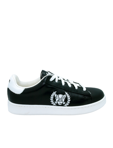 Leather Men-Ethical Sneakers Black&White by Ethical & Sustainable Fashion Brand Mamahuhu