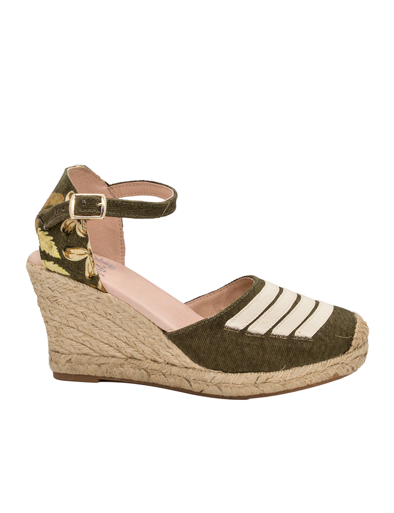 Espadrilles Women-Espadrilles Wild Green by Ethical & Sustainable Fashion Brand Mamahuhu