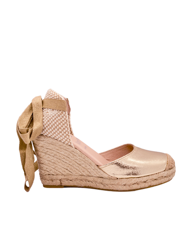 Espadrilles Women-Espadrilles Golden Night by Ethical & Sustainable Fashion Brand Mamahuhu