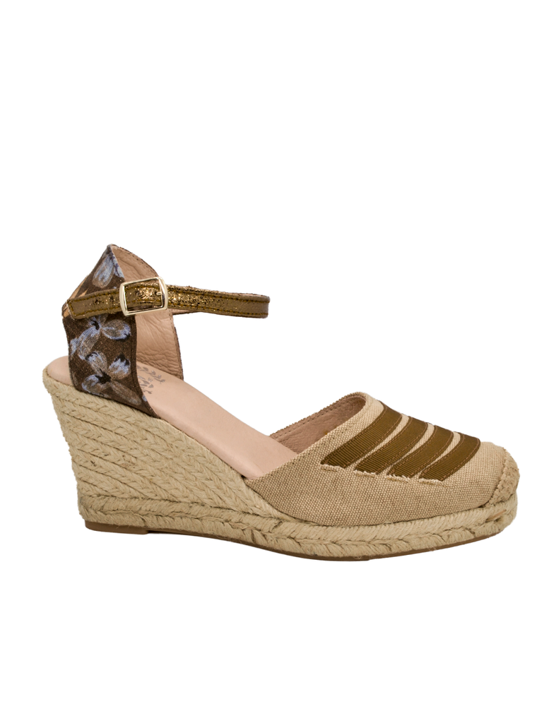 Espadrilles Women-Espadrilles Wild Brown by Ethical & Sustainable Fashion Brand Mamahuhu