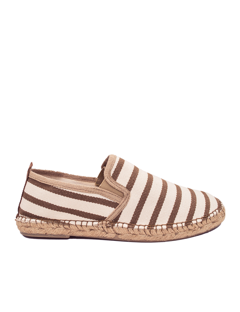 Espadrilles Men-Espadrilles Zebra Coffee by Ethical & Sustainable Fashion Brand Mamahuhu