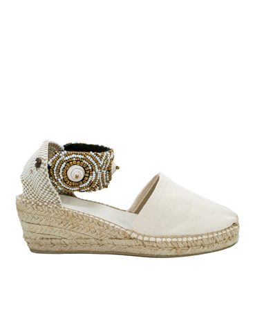 Espadrilles White Jewel