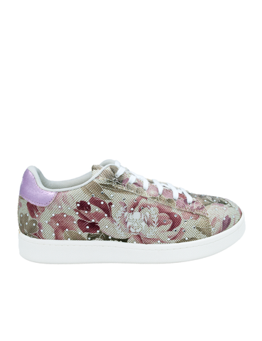Ethical Sneakers-Ethical Sneakers Diamond Roses by Ethical & Sustainable Fashion Brand Mamahuhu