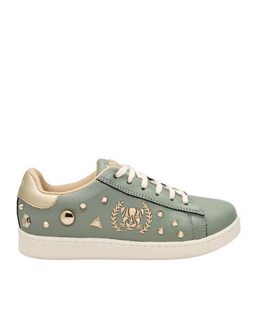 Ethical Sneakers-Ethical Sneakers Emerald with Pins by Ethical & Sustainable Fashion Brand Mamahuhu
