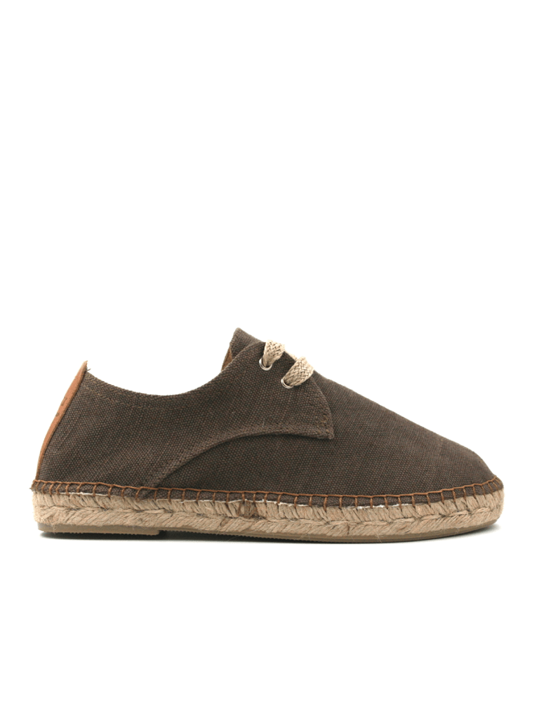 Espadrilles Men-Espadrilles Chocolate by Ethical & Sustainable Fashion Brand Mamahuhu