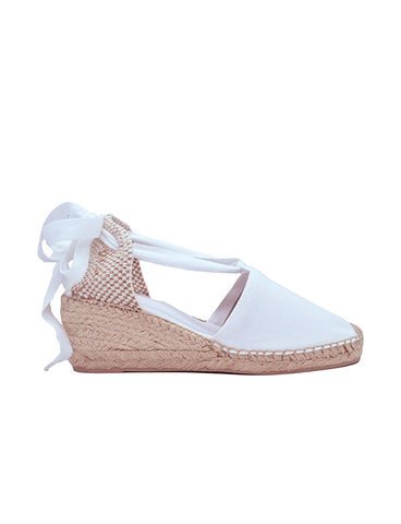 Espadrilles Women-Espadrilles Valencia Snow White by Ethical & Sustainable Fashion Brand Mamahuhu