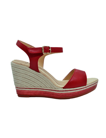 Espadrilles Women-Espadrilles Cartagena Roja by Ethical & Sustainable Fashion Brand Mamahuhu